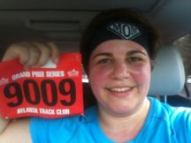 I finished my first 5k