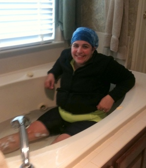 my first ice bath