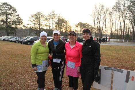 a few of us before the run
